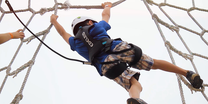 Ropes Course in Sauble Beach, Ontario